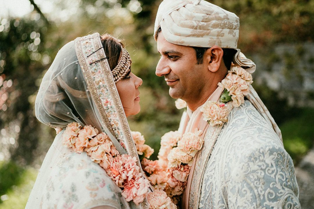 Lindsay and Miten's beautiful Indian fusion wedding at Ashford Castle, in County Mayo, Ireland.