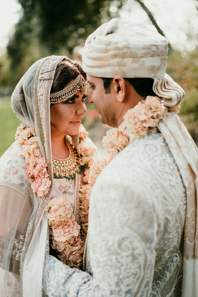 Lindsay and Miten's beautiful fusion Indian wedding was held in an Irish castle.
