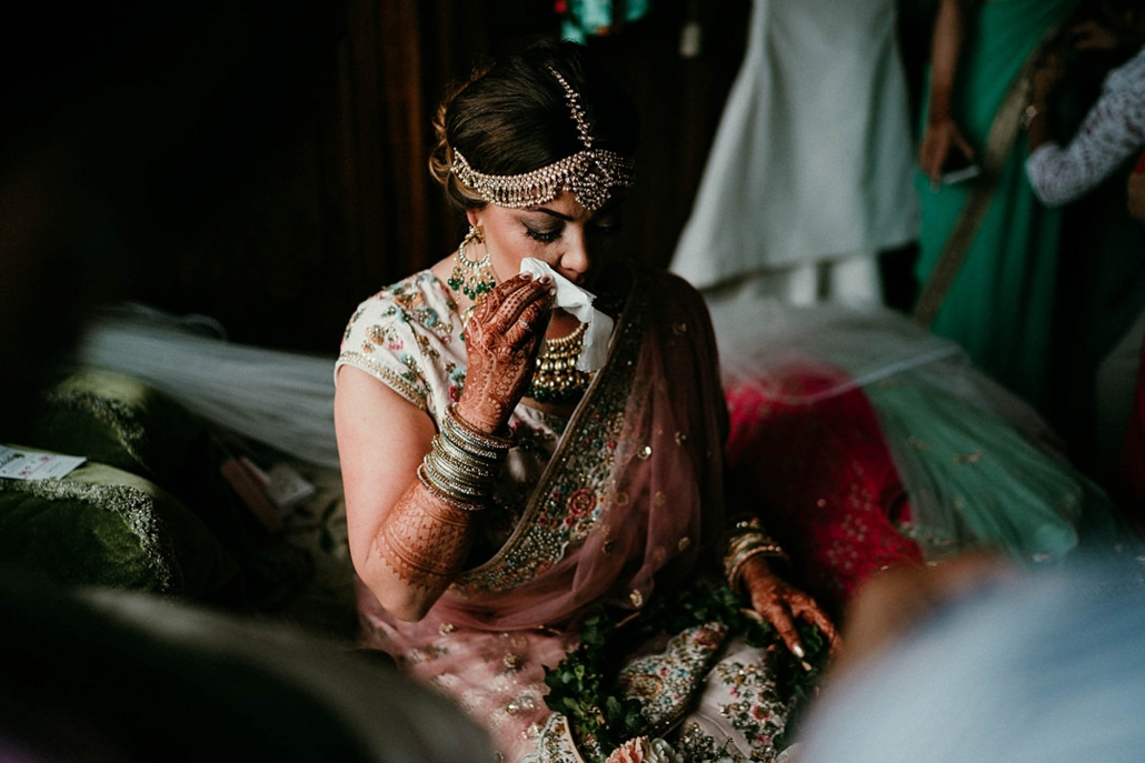 Lindsay and Miten's beautiful Indian fusion wedding was held at Ashford Castle in Ireland.