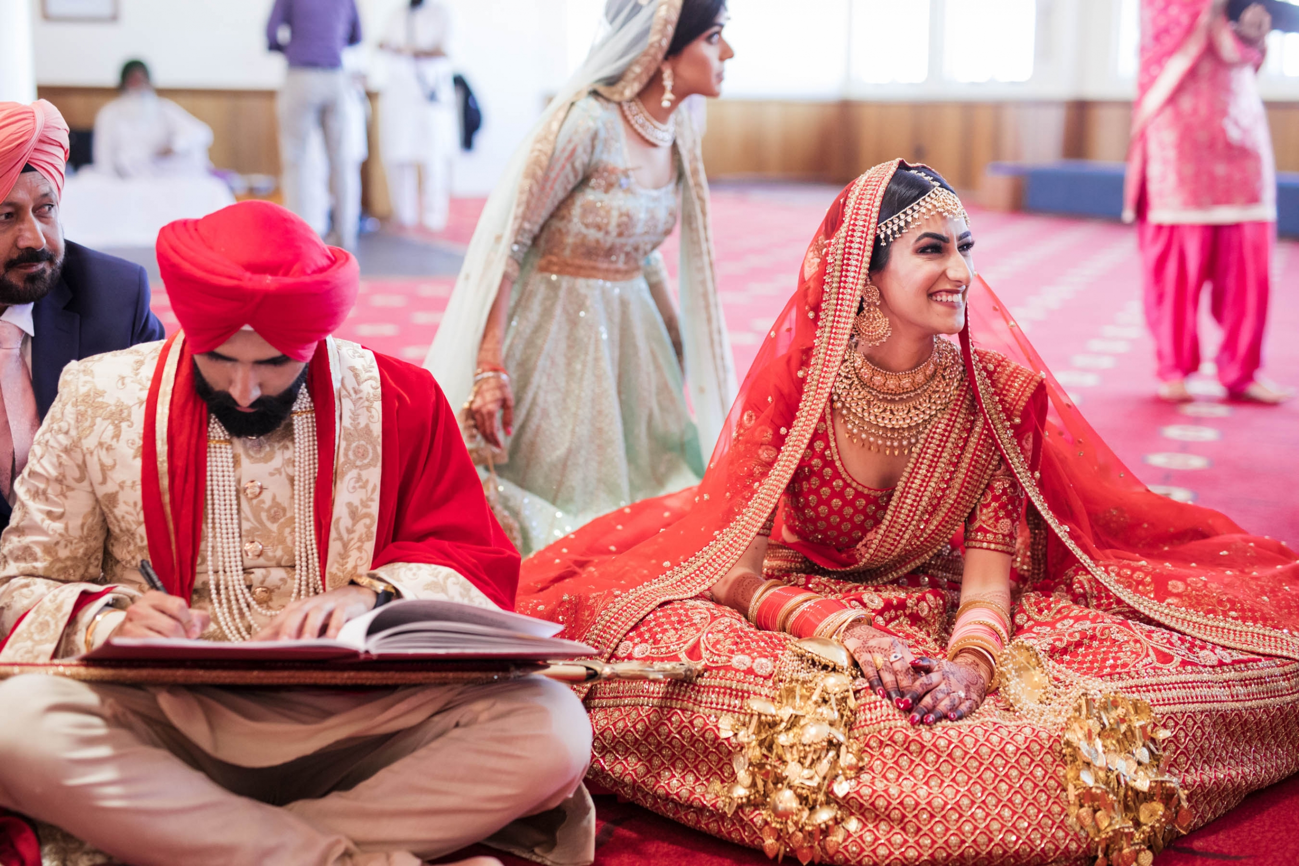 A Festive Punjabi Wedding in Sydney with a Sabyasachi Bride_ Karen and Sunny