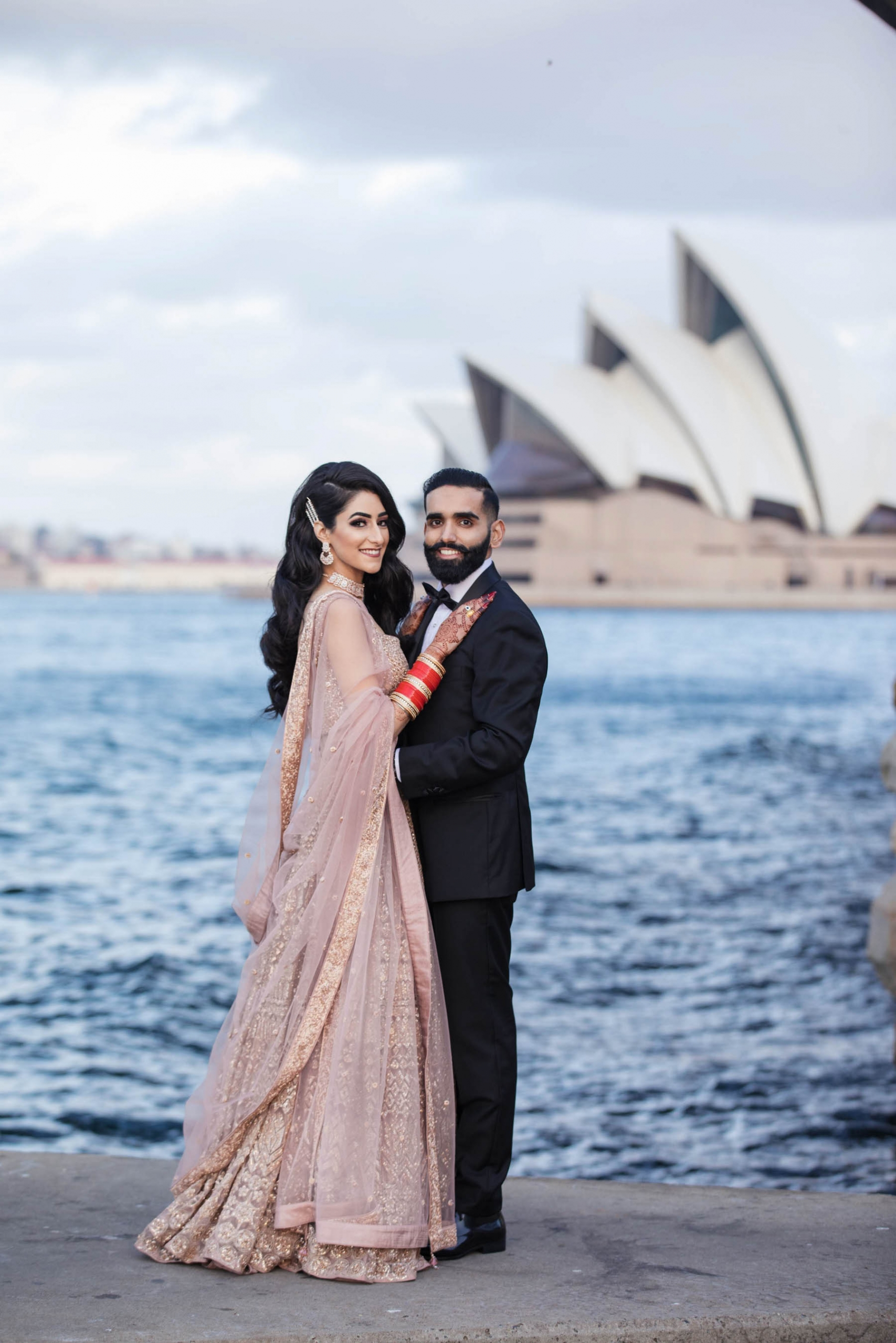 A Festive Punjabi Wedding in Sydney with a Sabyasachi Bride_Karen and Sunny