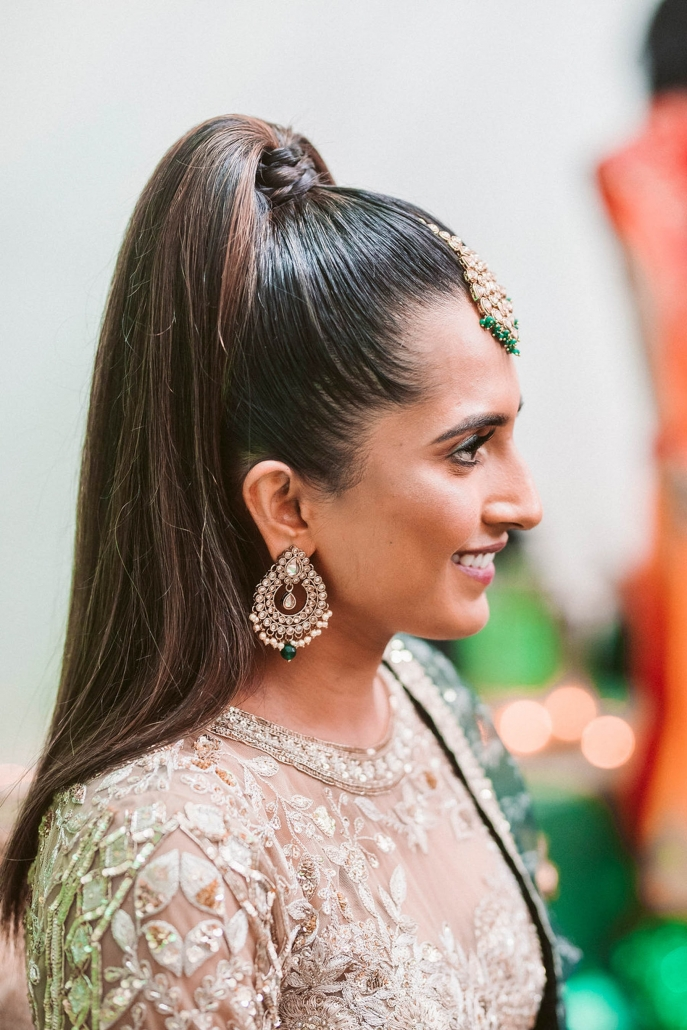 Indian bride, Shaheen at her mehndi party in Sydney.