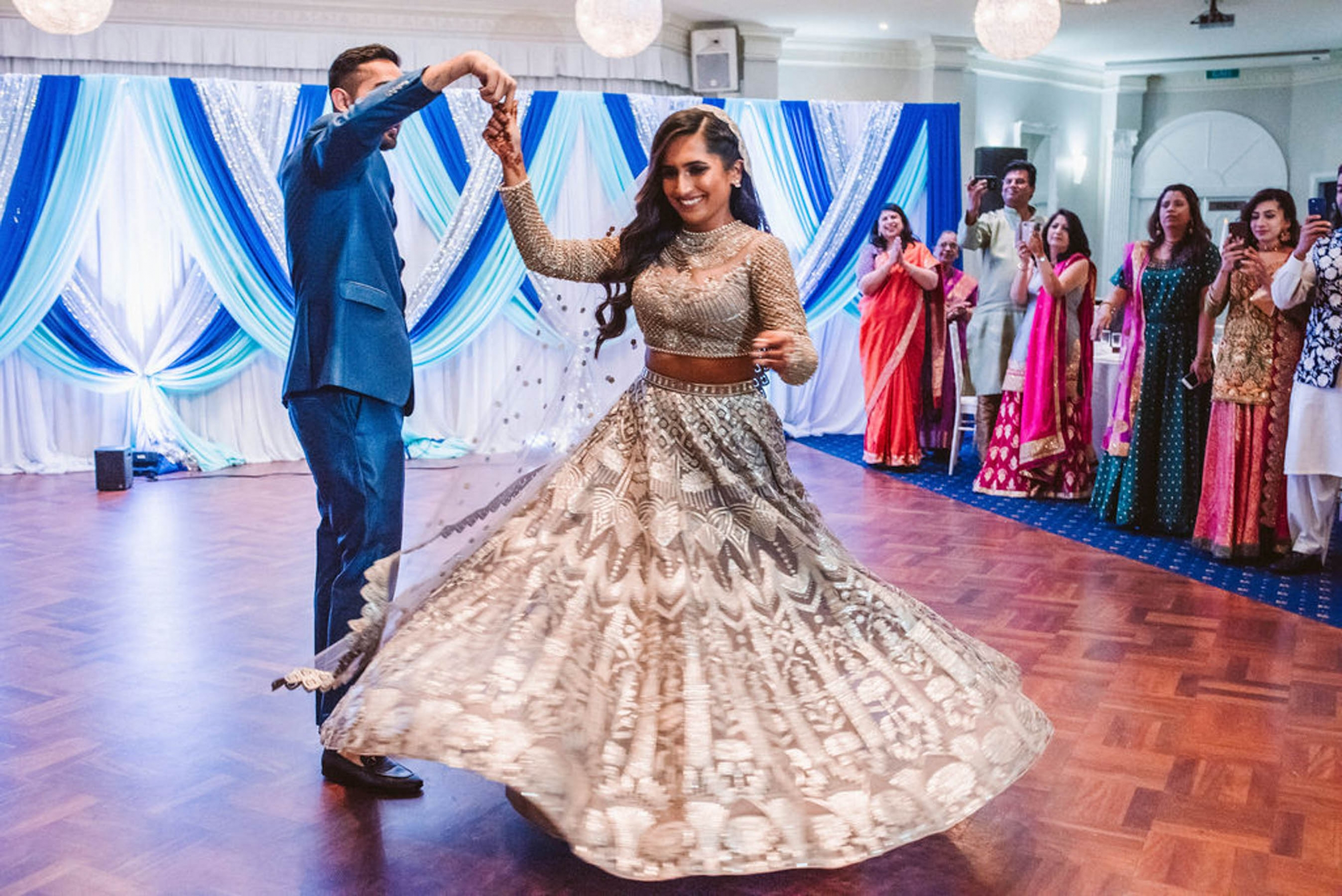 Shaheen and Qaseem's sangeet party in Sydney was a fun-filled affair