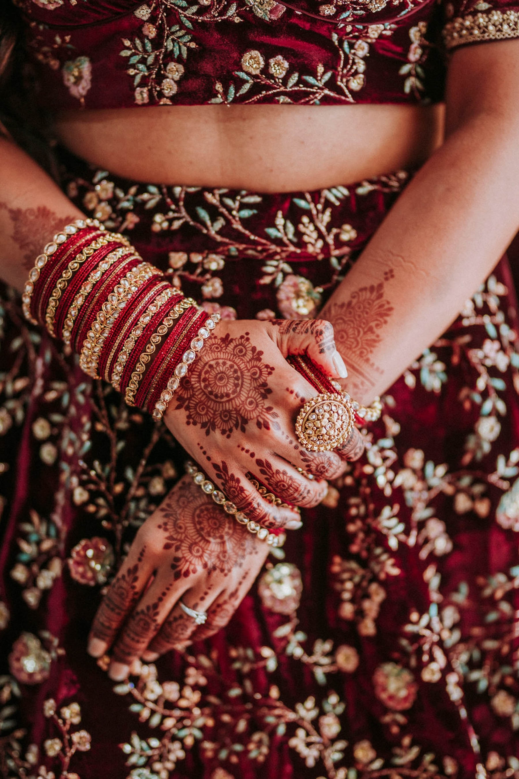 Indian bride Shaheen made the perfect Sabyasachi bride at her cross-cultural wedding in Sydney