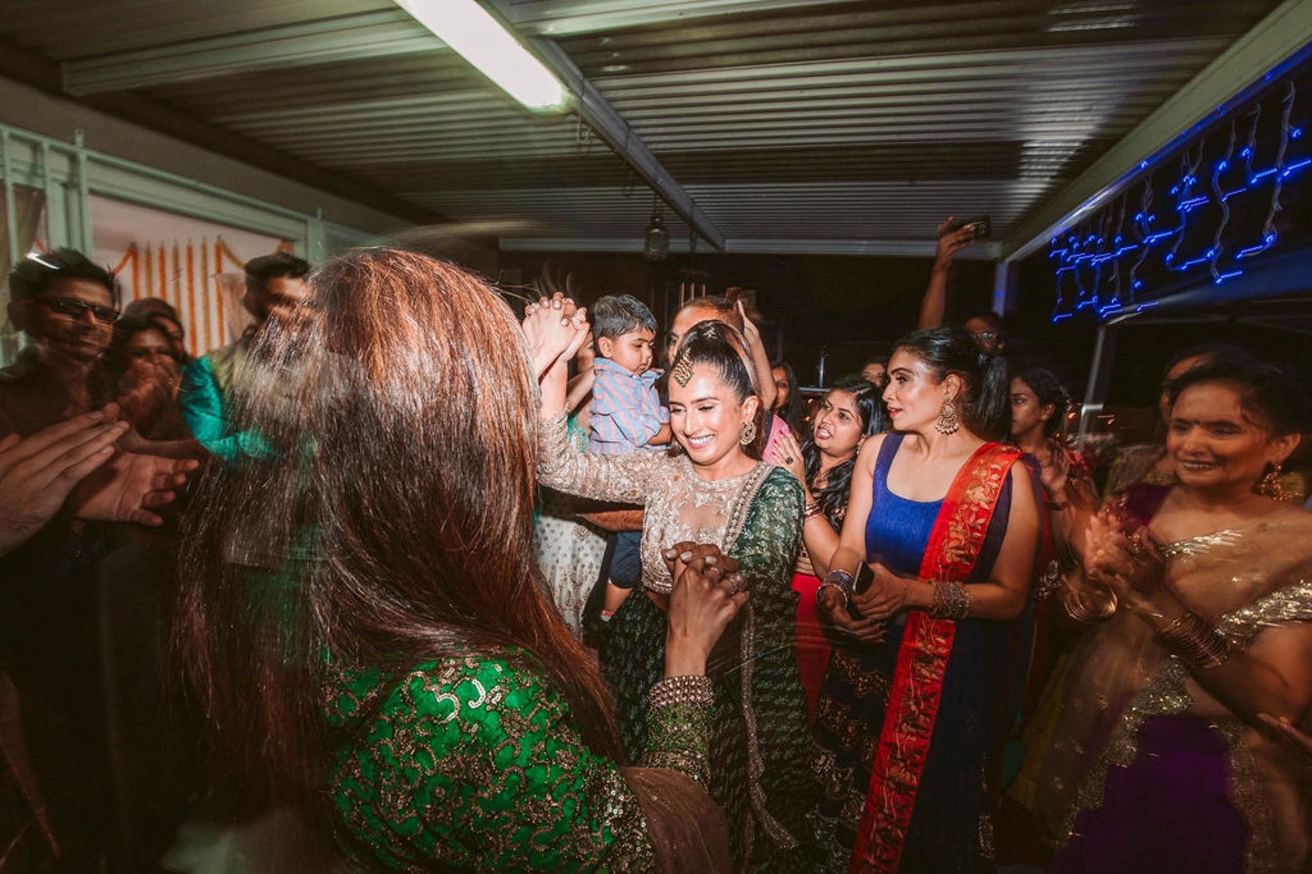 Indian bride Shaheen had a multi-day cross cultural wedding in Sydney, which included a sangeet, mehndi, haldi and Nikah wedding ceremony.