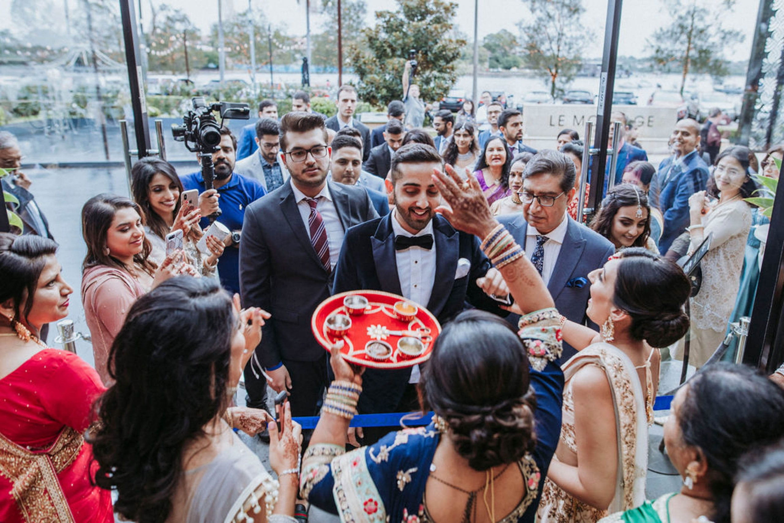 Shaheen and Qaseem's Indian Pakistani cross-cultural wedding in Sydney