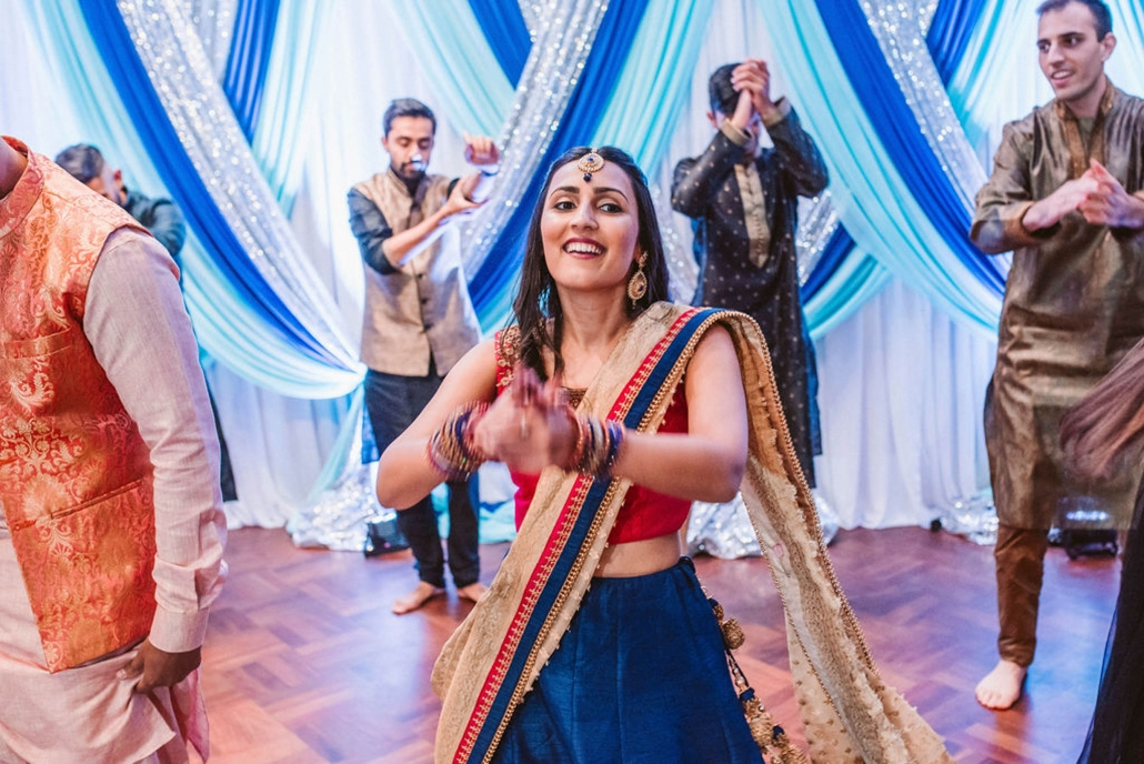 Shaheen and Qaseem's sangeet party in Sydney.