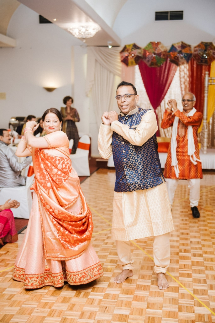 Claire and Rohit's Sangeet party in Melbourne, Australia.