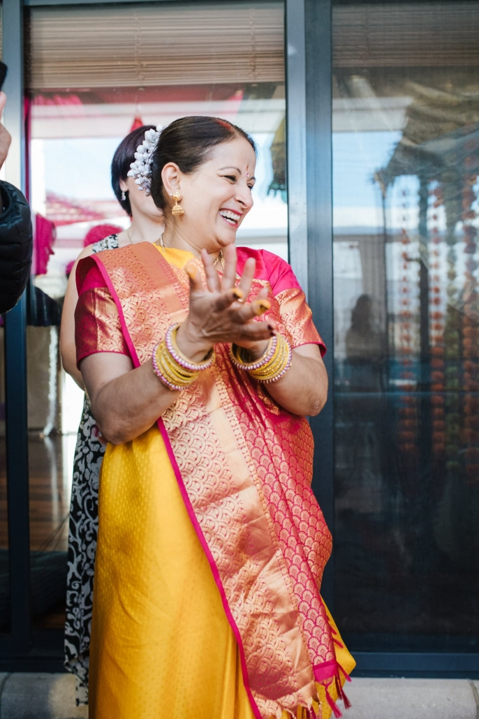 Claire and Rohit's colourful multicultural and traditional Indian wedding in Melbourne.