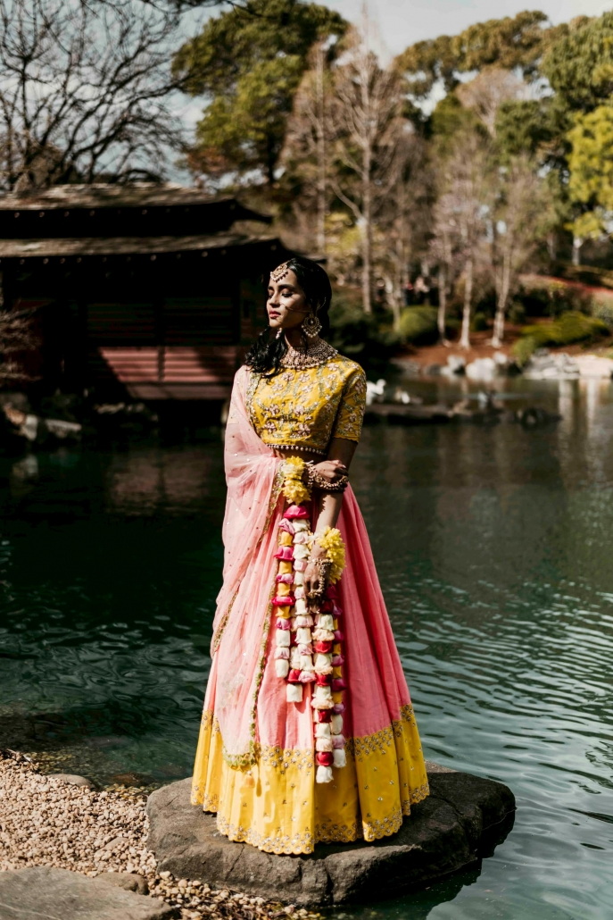By Elora are a Sydney based luxury Indian bridal fashion boutique, servicing Indian and South Asian brides and grooms across Australia and the world. If you are after custom bridal wear for your wedding, contact The Maharani Diaries now for a free consultation.