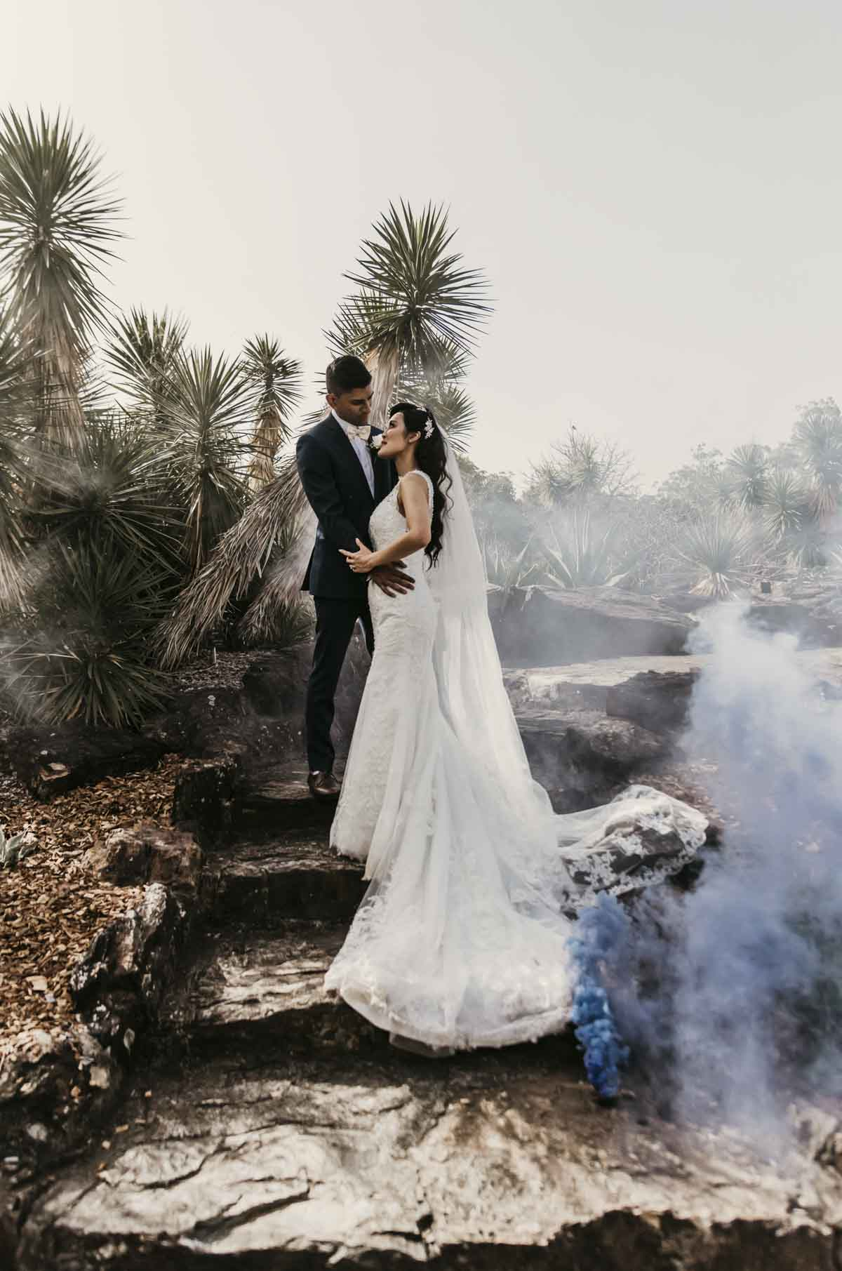Shay and Uppi's modern and romantic fusion Indian wedding in Brisbane, Australia captured by Sal Singh Photography.