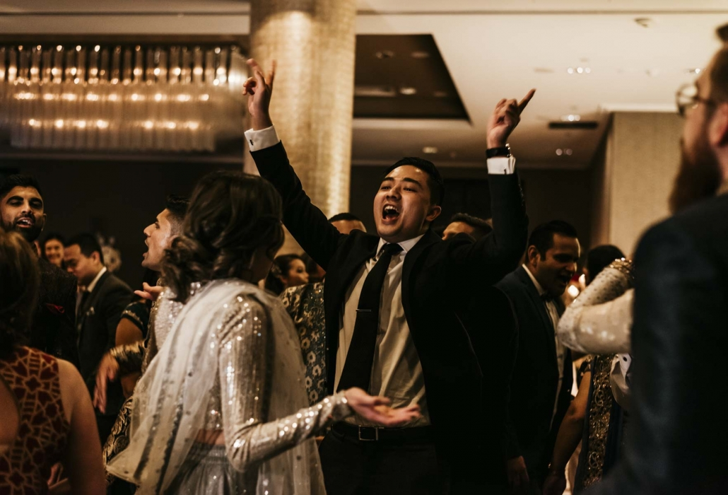 Shay and Uppi's modern and romantic fusion Indian wedding in Brisbane, Australia. Wedding Photography captured by Brisbane wedding photographer, Sal Singh Photography.