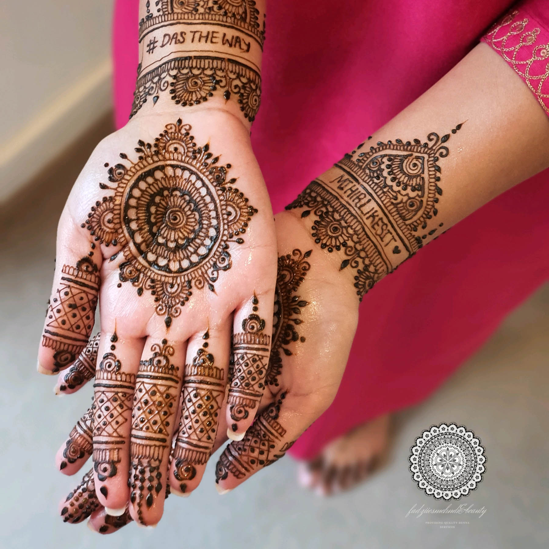 Introducing Melbourne Bridal Henna and Makeup Artist Faadhilah Buksh of Fadziies Mehndi And Beauty. Fadziie is an experienced mehndi artist who is open to travelling all across Australia for Indian weddings.