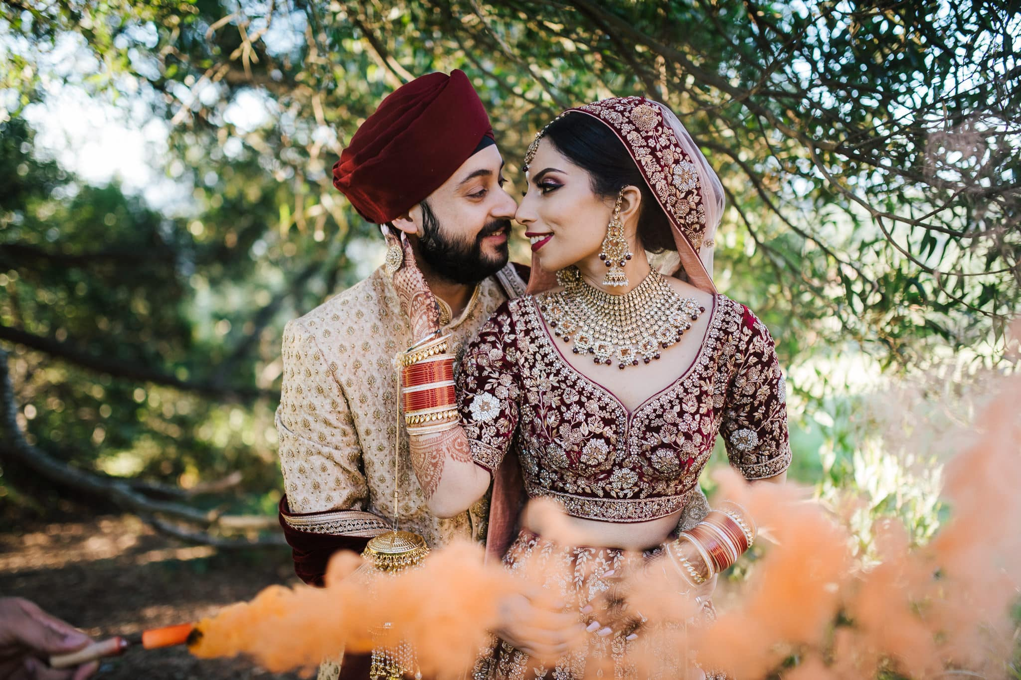 Simran and Anmol's Vibrant and Modern Sikh Wedding Celebration in Melbourne