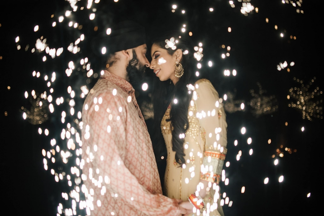 Melbourne couple, Simran and Anmol at Simran's mehndi party celebration. Go behind the scenes of their wedding on The Maharani Diaries. Photography captured by Bhargav Boppa.