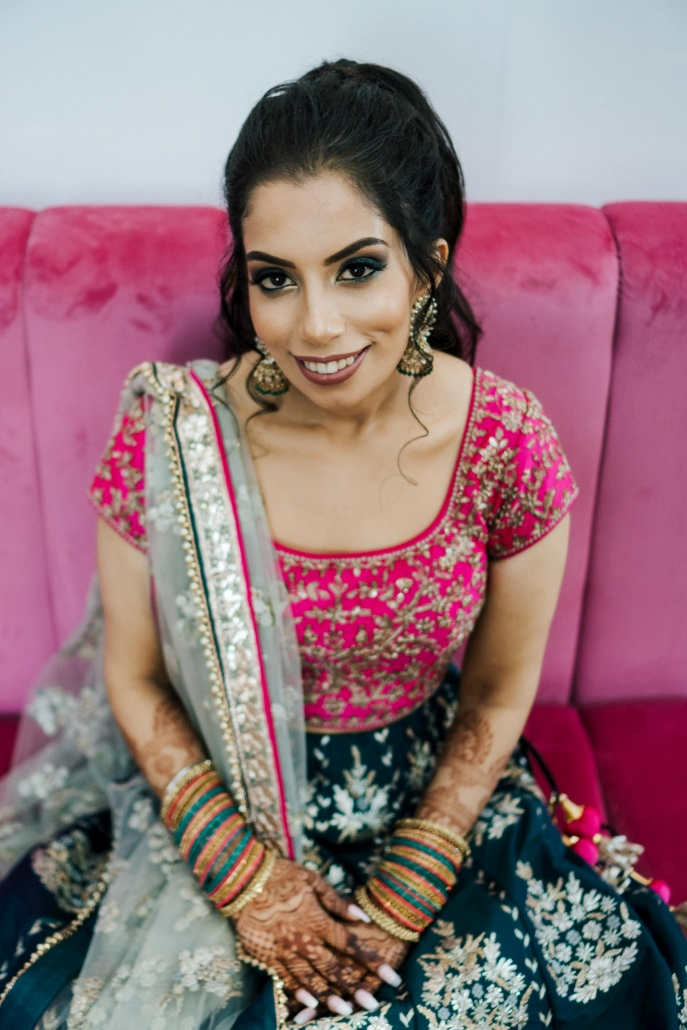 Bride Simran at her Sikh wedding celebration in Melbourne. Go behind the scenes only on The Maharani Diaries.