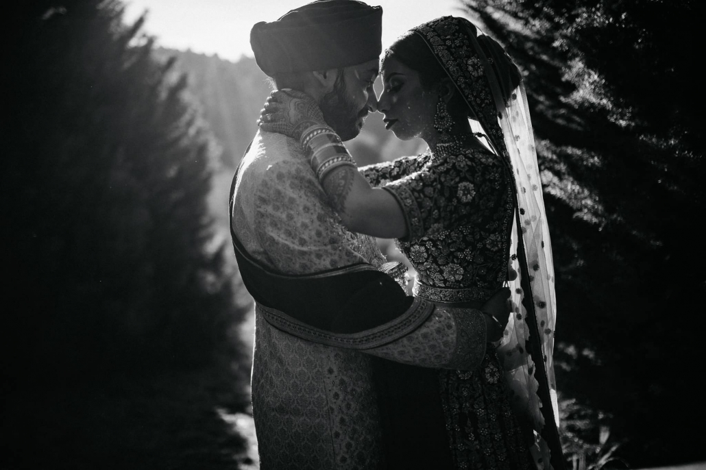 Melbourne couple, Simran and Anmol at their wedding photoshoot in Melbourne. Their vibrant and modern Sikh wedding celebration took place over multiple days, with wedding photography captured by Indian wedding photographer, Bhargav Boppa.