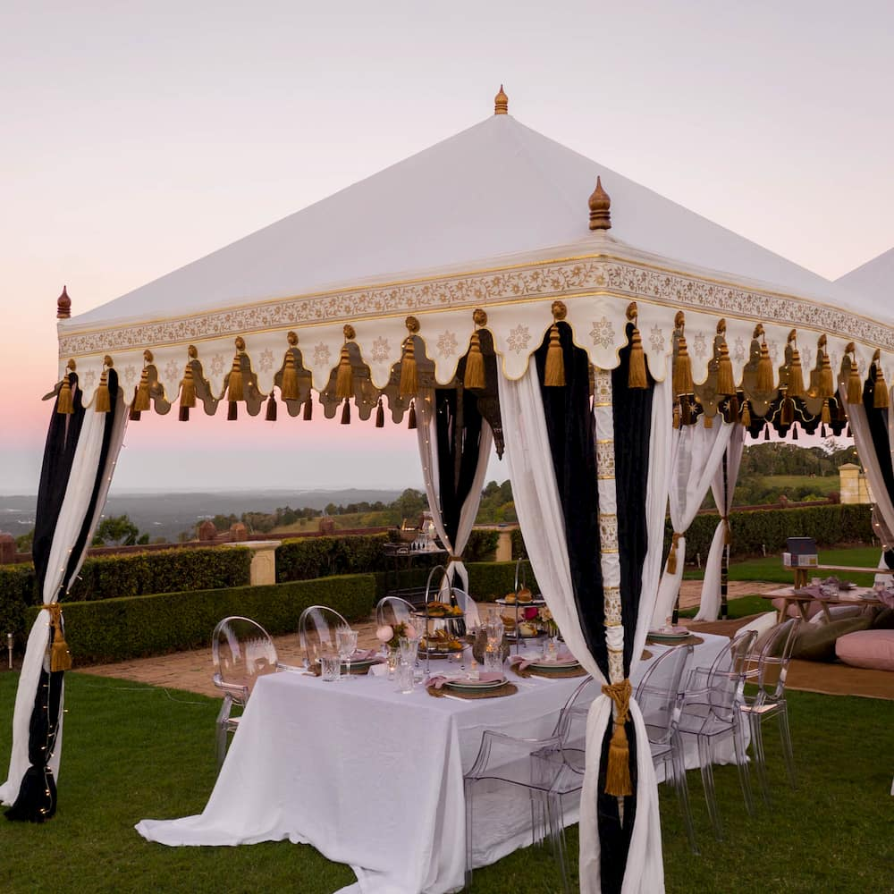 Glamacamp Weddings and Events_Luxury Boho tent and prop hire in Noosa, Sunshine Coast, Queensland
