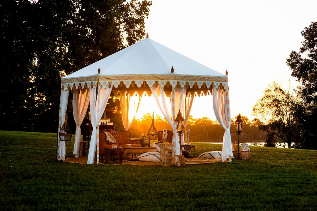Luxury outdoor tent hire in Queensland