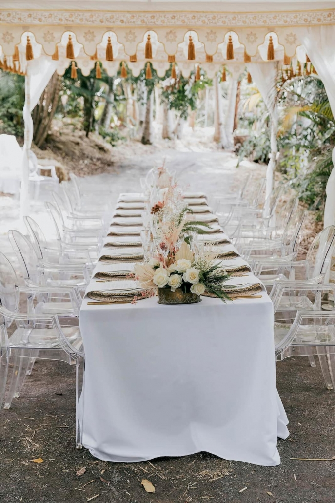 Outdoor wedding events by Glamacamp Weddings and Events in Noosa, Sunshine Coast, Queensland.