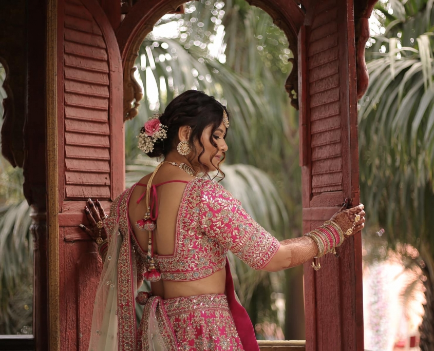 Summer Indian Bridal Fashion for the Minimalist Bride